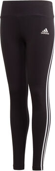 adidas 3-Stripes Cotton kids legging  Meisjes Zwart