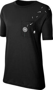 Nike Sporswear Novel shirt Dames Zwart