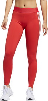 ADIDAS Alphaskin 3-Stripes tight Dames Oranje