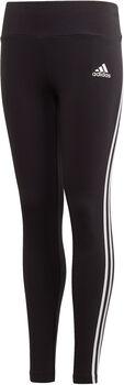 adidas 3-Stripes Cotton kids legging  Meisjes Zwart