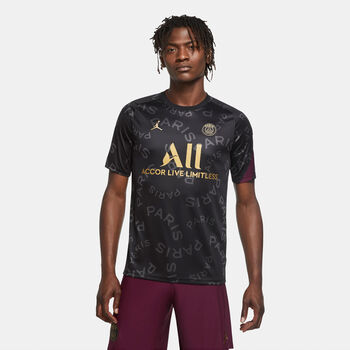 Nike Paris Saint-Germain Strike top Heren Zwart