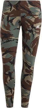 adidas Essentials Camouflage 3-Stripes 7/8 Legging Dames Groen