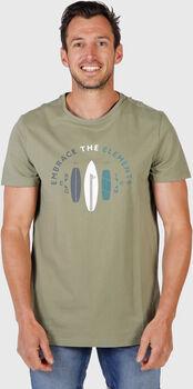 Brunotti Tim shirt Heren Groen