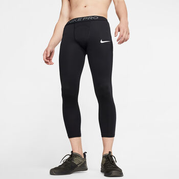 Nike Pro 3/4 tight Heren Zwart