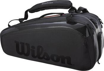 Wilson Super Tour 12 Pack Pro Staff tennistas Zwart