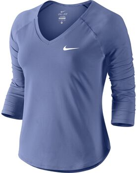 Nike Pure 3/4 shirt Dames Paars