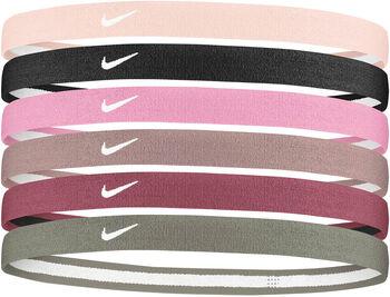 Nike Swoosh Sport 2.0 haarbandjes (6 paar) Roze