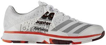 Adidas Counterblast Falcon indoorschoenen Jongens Wit