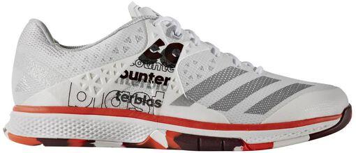 Adidas - Counterblast Falcon indoorschoenen - Jongens - Schoenen - Wit - 41 1/3