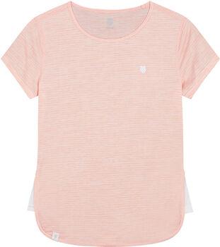 K-Swiss Hypercourt Cap Sleeve shirt Dames Roze