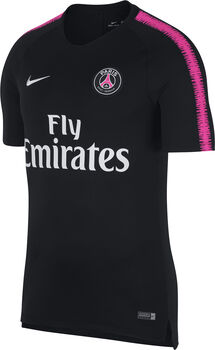 Nike Breathe Paris Saint-Germain Squad shirt Heren Zwart