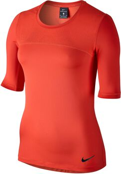 Nike Pro Hypercool shirt Dames Oranje