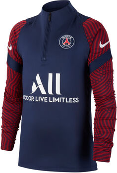 Nike Paris Saint-Germain Strike Drill kids top Jongens Blauw