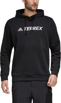 adidas Terrex Graphic Logo Hoodie Heren Zwart