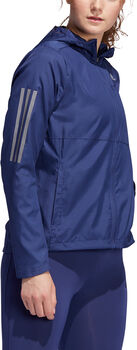 adidas Own the Run Hooded windjack Dames Blauw