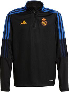 adidas Real Madrid Tiro Longsleeve kids trainingsshirt 21/22 Jongens Zwart