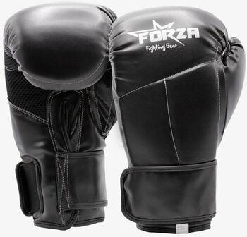 Forza Kunstleren Champion bokshandschoenen Heren Zwart