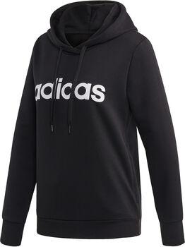 ADIDAS Essentials Linear Pullover hoodie Dames Zwart