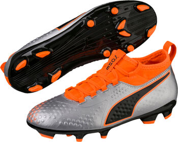 Puma One 3 Syn FG jr voetbalschoenen Grijs