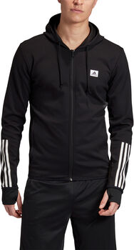 adidas Designed to Move Motion Hooded Trainingsjack Heren Zwart