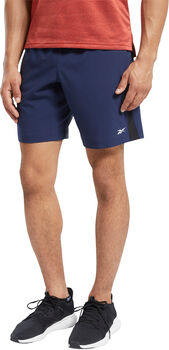 Reebok Workout Ready short Heren Blauw