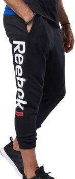 Reebok Training Essentials Logo joggingbroek Heren Zwart