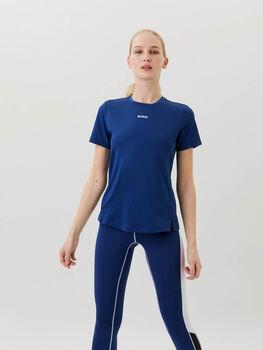 Björn Borg Regular t-shirt Dames Blauw