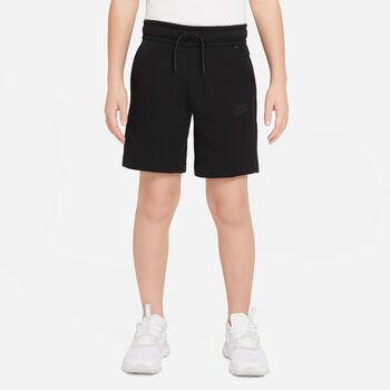 Nike Sportswear Tech Fleece kids short Jongens Zwart