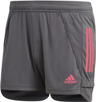 adidas Real Madrid Training Short Dames Grijs