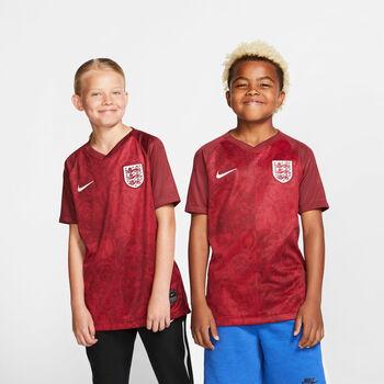 Nike Engeland Breathe Stadium jr uitshirt Meisjes Rood
