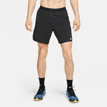 Nike Flex Stride 2-in-1 short Heren Zwart