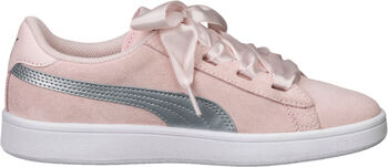Puma Smash V2 Ribbon sneakers Meisjes Wit