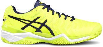 Asics GEL-Resolution 7 Clay tennisschoenen Heren Geel