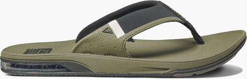 Reef - Fanning 2.0 slippers - Heren - Sandalen en slippers - Groen - 42