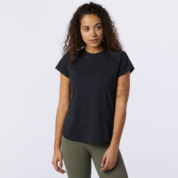 New Balance Q Speed Fuel Jacquard shirt Dames Zwart