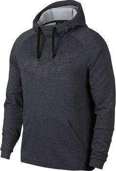 Nike Dry Po Fleece GFX hoodie Heren Zwart