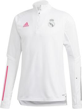 adidas Real Madrid trainingsshirt 20/21 Heren Wit