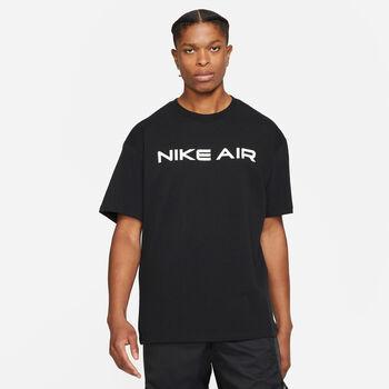 Nike Air t-shirt Heren Zwart