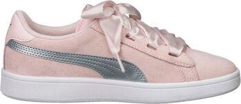 Puma Smash V2 Ribbon sneakers Meisjes Wit
