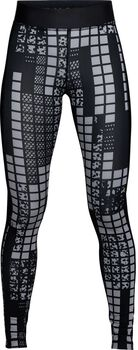 Under Armour UA Printed tight Dames Zwart