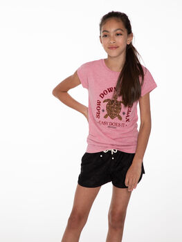 Protest Dian 21 kids short Meisjes Zwart