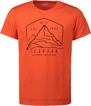 Icepeak Bude t-shirt Heren Rood