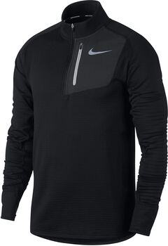 Nike Therma Sphere Element Running shirt Heren Zwart