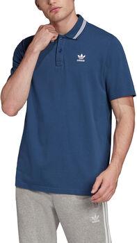 ADIDAS Trefoil Essentials Poloshirt Heren Blauw