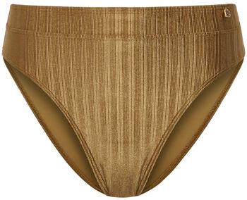 Beach Life Tori high waist bikinibroekje Dames Geel