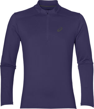 Asics Essential Winter 1/2 Zip longsleeve Heren Blauw