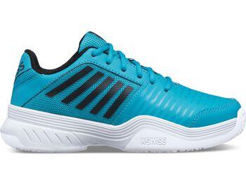 K-Swiss Court Express Omni tennisschoenen Jongens Blauw