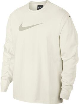 Nike Sportswear Crew knit Tech Pack  sweater Heren Wit