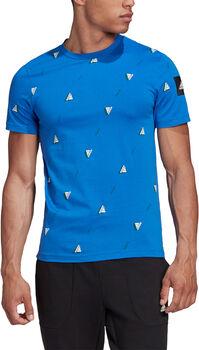 adidas Must Haves Graphic T-shirt Heren Blauw