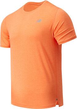 New Balance Impact Run shirt Heren Oranje